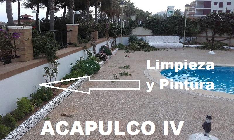 Mantenimiento pintura piscina norte comunidad acapulco iv for Piscinas norte