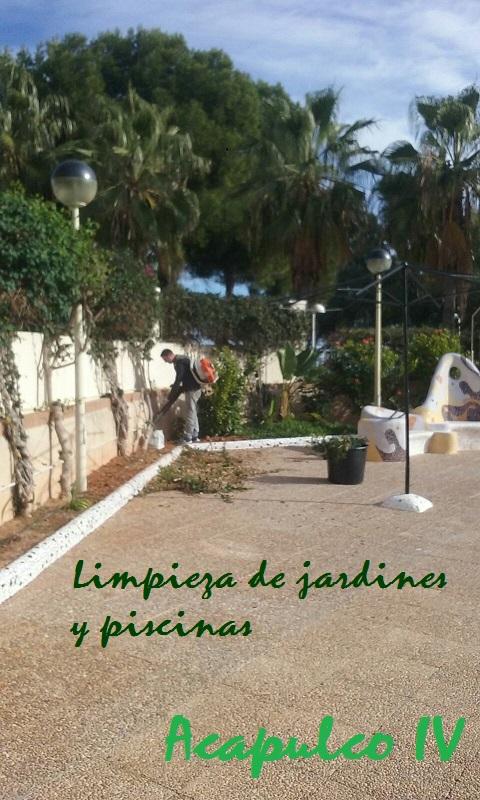 Limpieza Jardines Y Piscinas Norte Y Sur Comunidad