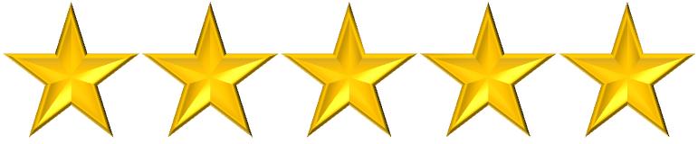 Resultado de imagen de 5 estrellas